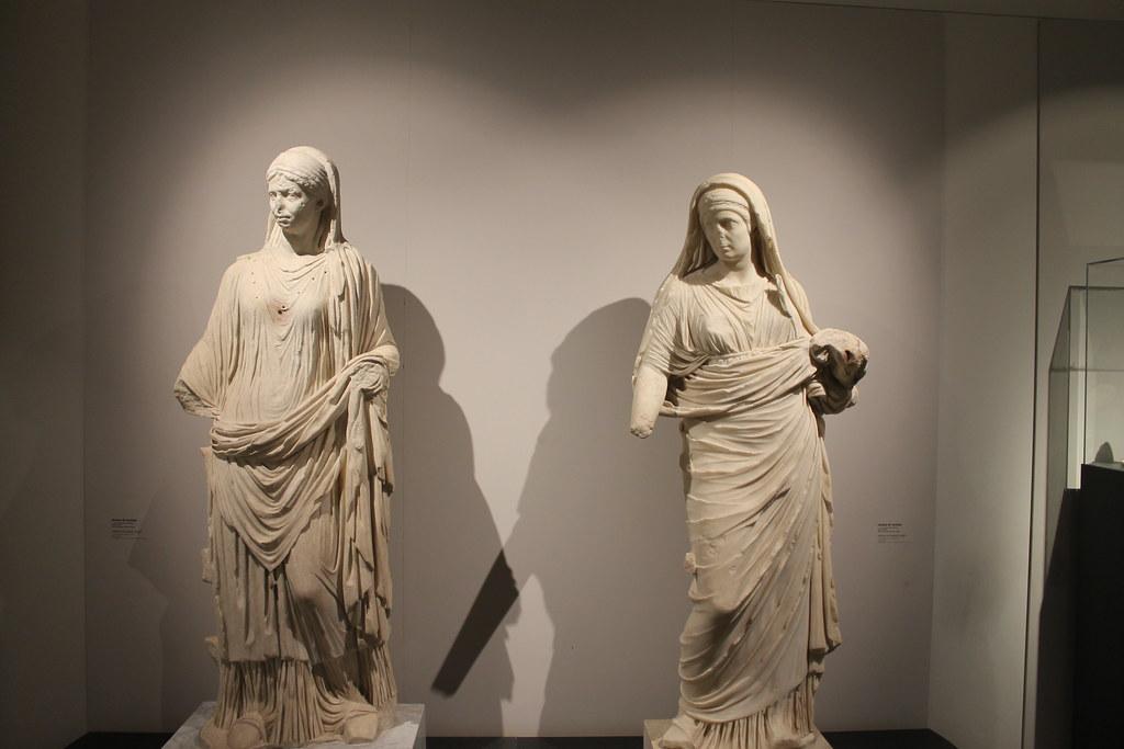 Statues of Vestal Virgins