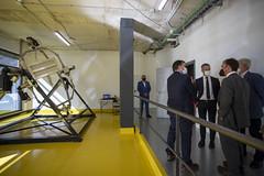 También han podido visitar las instalaciones de Gravitatea.