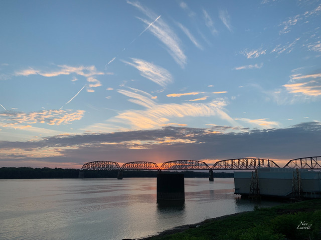Day 286: Sunset on the Ohio River