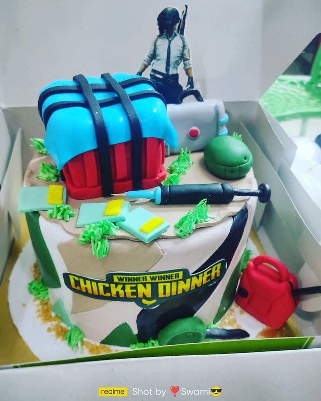 Cake by Midland Bakers