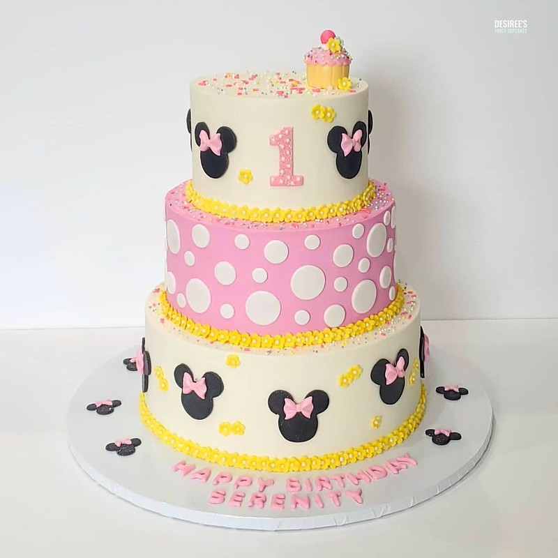 Cake by Desiree's Fancy Cupcakes