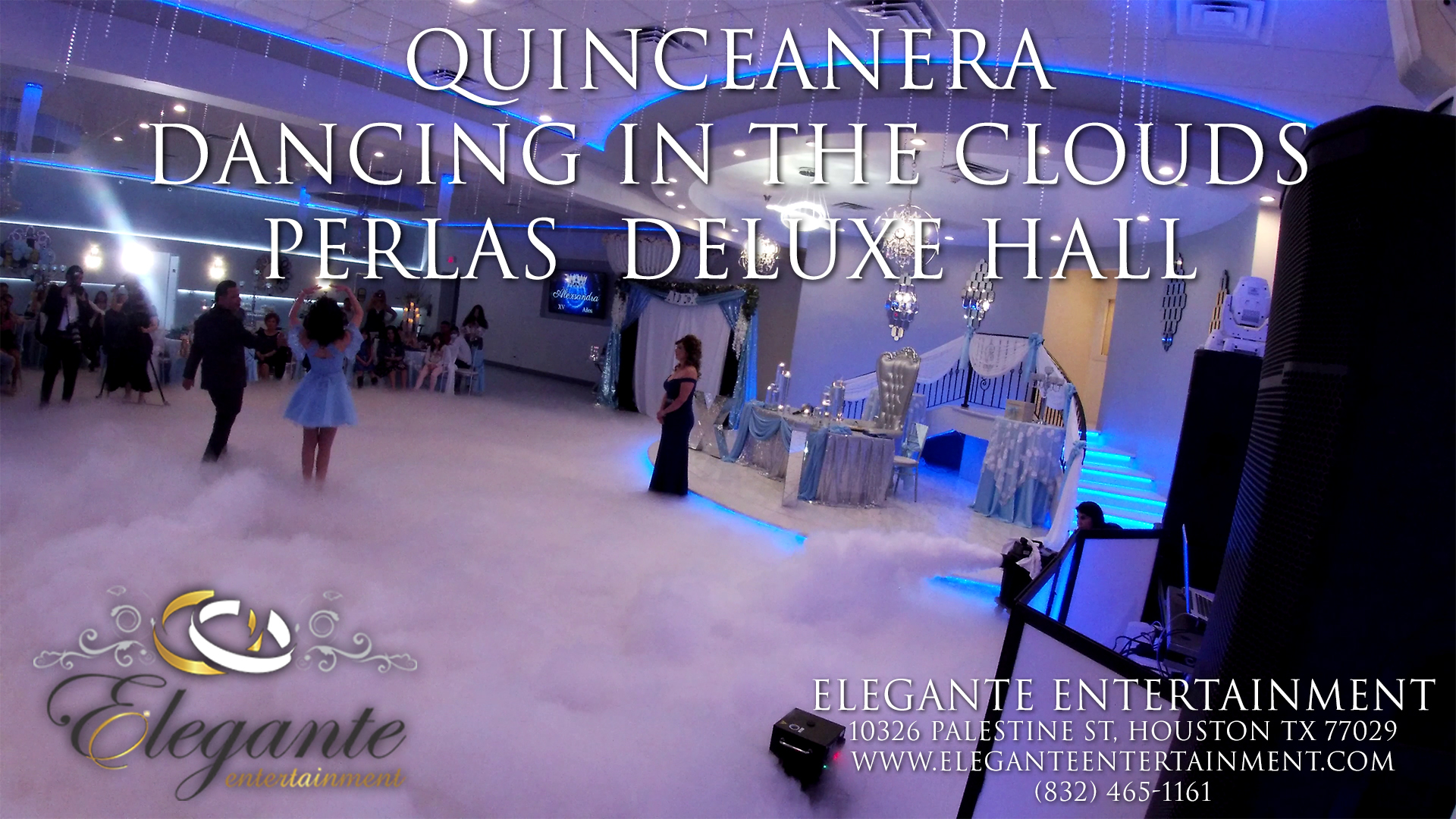 Quinceanera at the Perlas Deluxe Reception Hall in Katy Texas