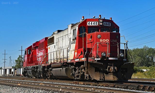 SOO GP38-2 No. 4448 in Kansas City, MO