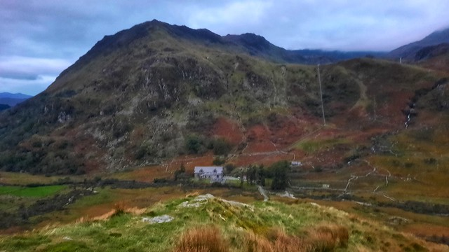 DUSK IN THE SNOWDONIA NATIONAL PARK