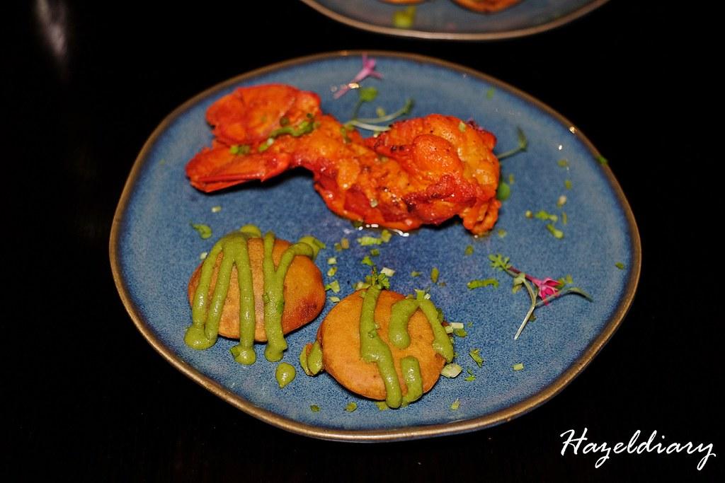 Tandoori Lobster-Tiffin Room -Raffles Singapore