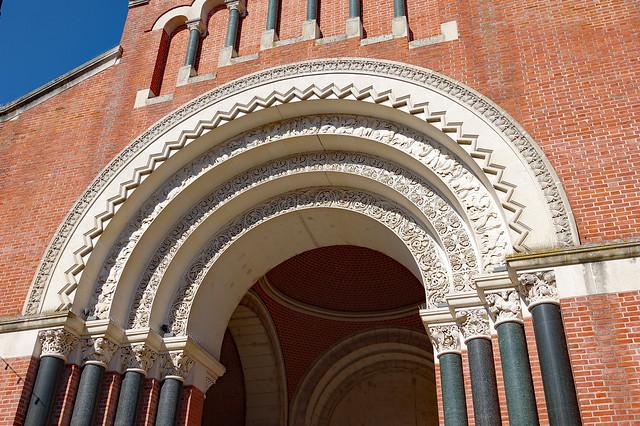 Villeneuve-sur-Lot (Lot-et-Garonne) : église Sainte-Catherine