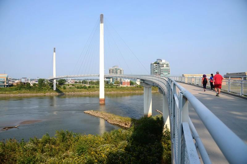Bob Kerrey Pedestrian Bridge Omaha, NE (7)