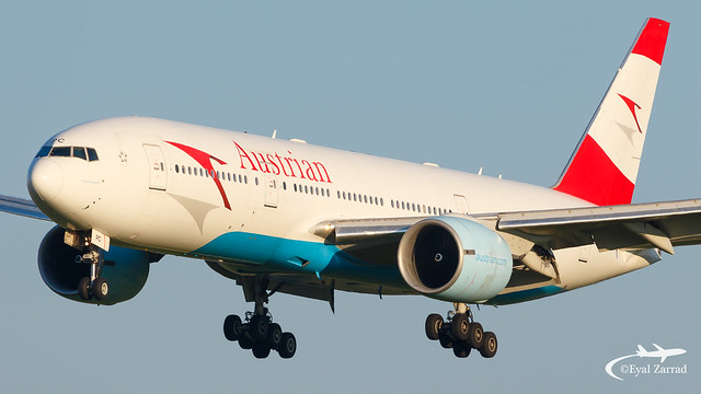 VIE - Austrian Airlines Boeing 777-200 OE-LPC