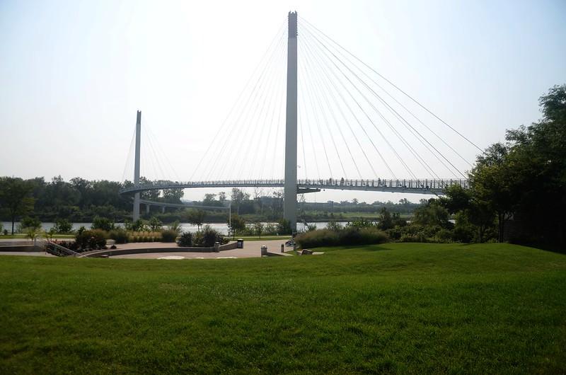 Bob Kerrey Pedestrian Bridge Omaha, NE (16)
