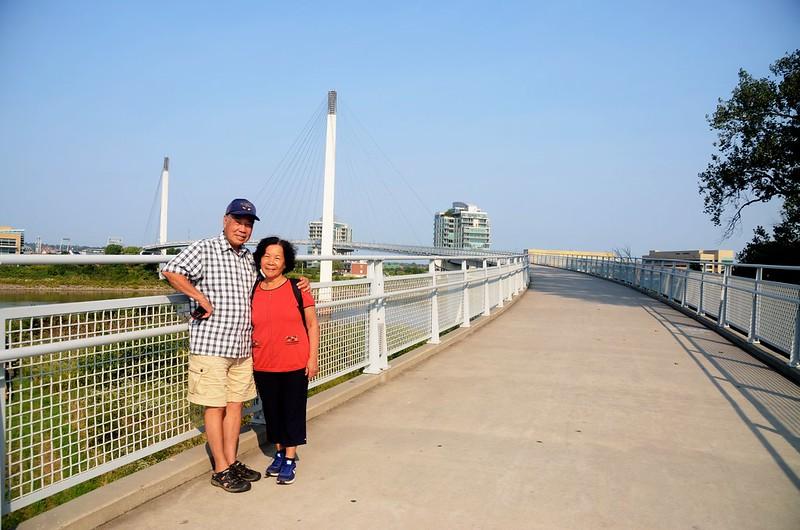 Bob Kerrey Pedestrian Bridge Omaha, NE (5)