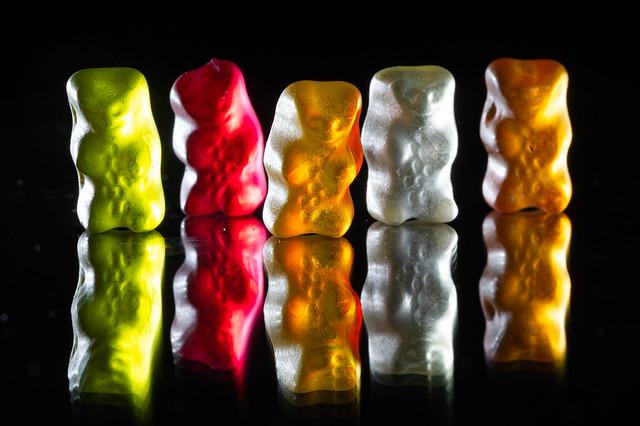 A family of Gummy bears