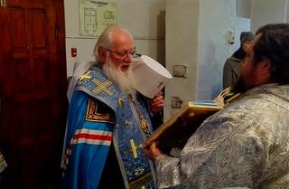 13.10.2021   Всенощное бдение в Покровском храме в Трубичино