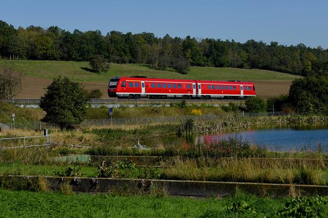DB 612 025 Großschwabhausen 10.10.2021