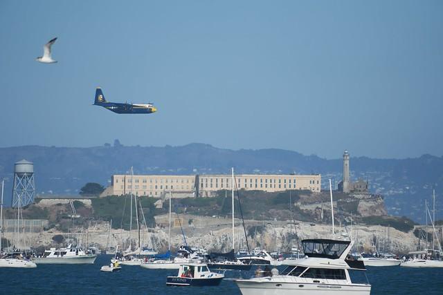 Fat Albert Over Alcatraz