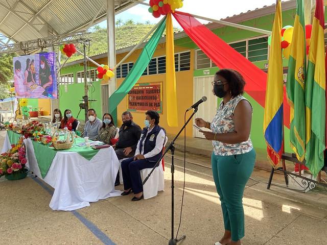 Inauguración Biblioteca El Tambo Cauca 2021