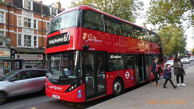P1030763 BCE47098 LG71 DWP at New Broadway Uxbridge Road Ealing Broadway London