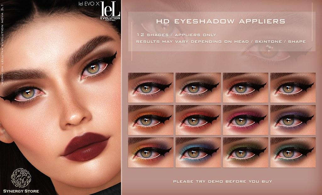 Synergy – Lelutka HD Eyeshadow Applier for EVO/EVO X heads – Orlando♥