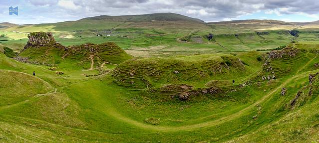 Basalt hilltop, Skye, Day 7 of 9 days in Scotland
