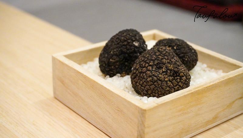 fresh truffle