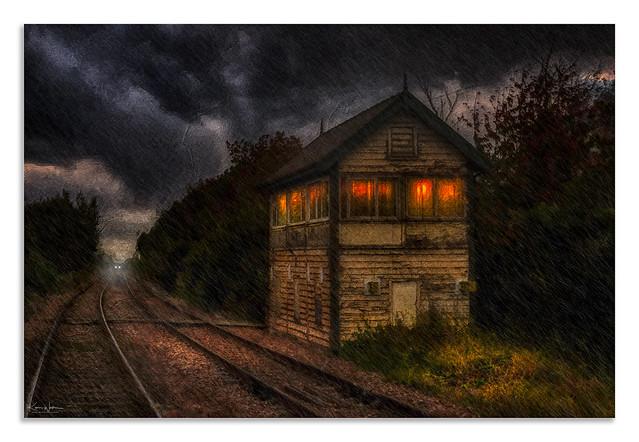 Monkhill signal box Pontefract