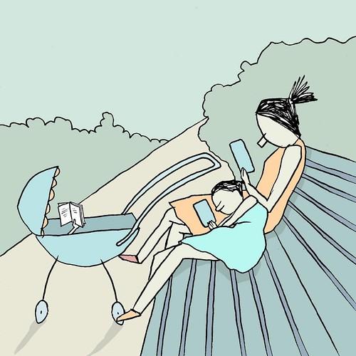 Leer es un hábito familiar,... por Yuval Robichek