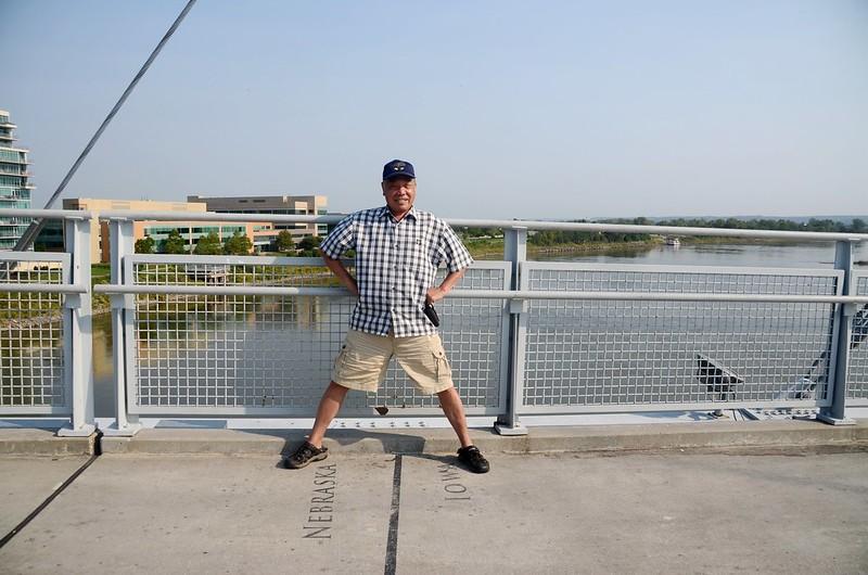 Bob Kerrey Pedestrian Bridge Omaha, NE (10)