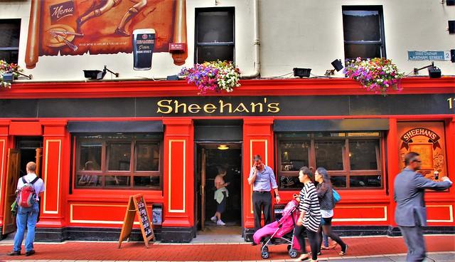 Dublin, street scenery
