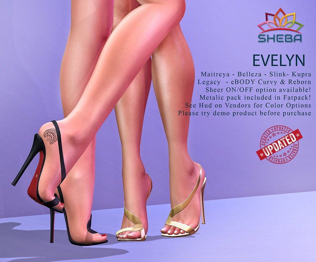 [Sheba] Evelyn Heels UPDATED