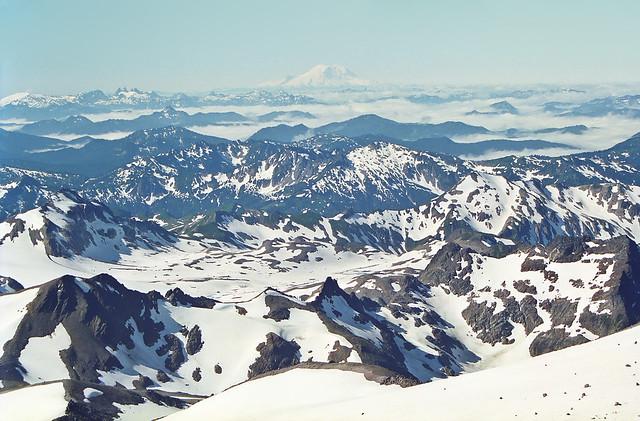 Glacier Peak Climb (10,525 ft),  South Side White Chuck Glacier Approach #4
