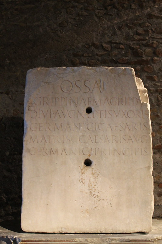 Funerary Monument of Agrippina Maior