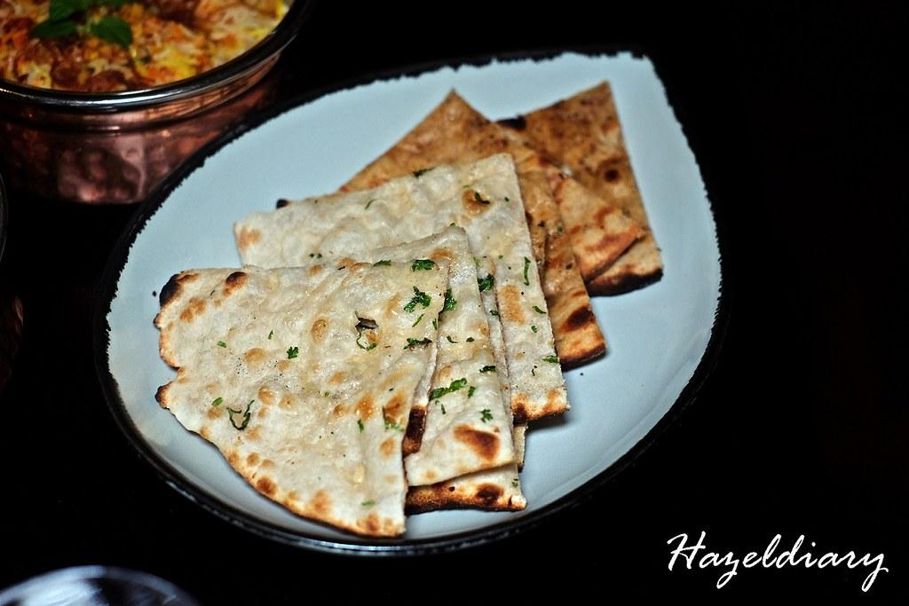 Garlic Naan-Tiffin Room Raffles Singapore
