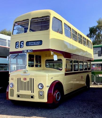 TBC 163 'Leicester City Transport' No. 163. Leyland PD3 / Park Royal on Dennis Basford's railsroadsrunways.blogspot.co.uk'