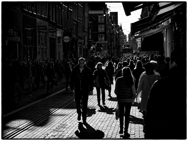 Amsterdam Centrum Leidsestraat
