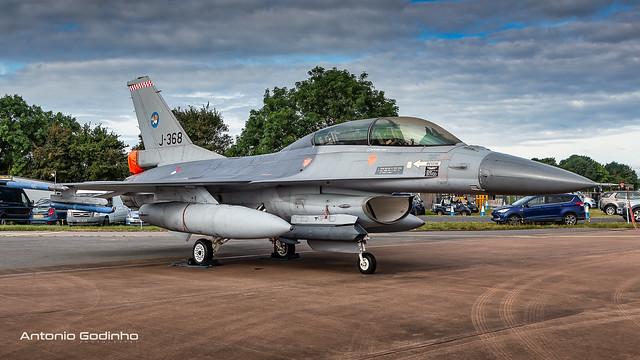 Royal Netherlands Air Force 313 Sqn F-16BM