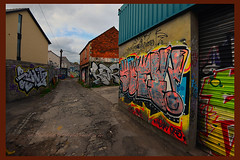 graffiti roath cardiff 3 oct 2021