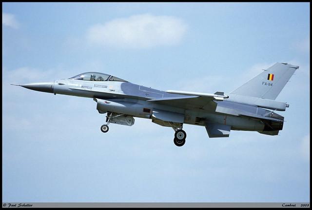 F16 AM FA-114 88-0039 Cambrai juin 2003