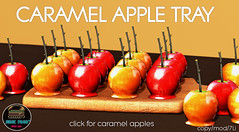 Junk Food - Caramel Apple Tray