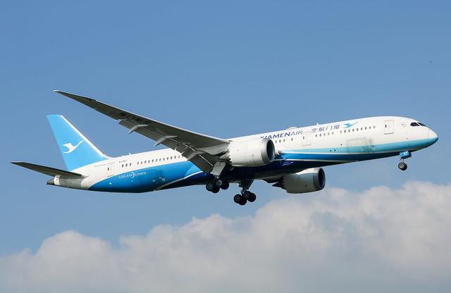 B-1357 Boeing 787-9 Dreamliner Xiamen Air