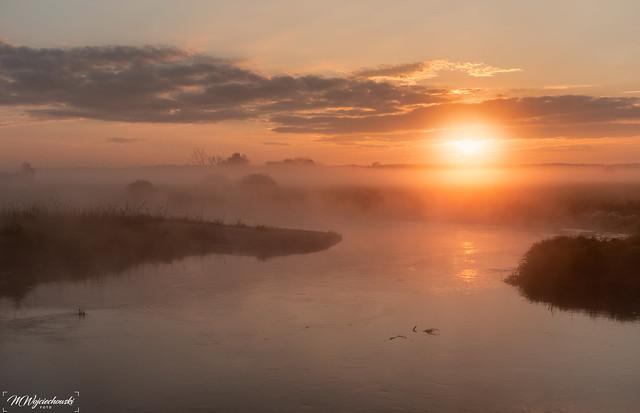 sunrise in Ponidzie