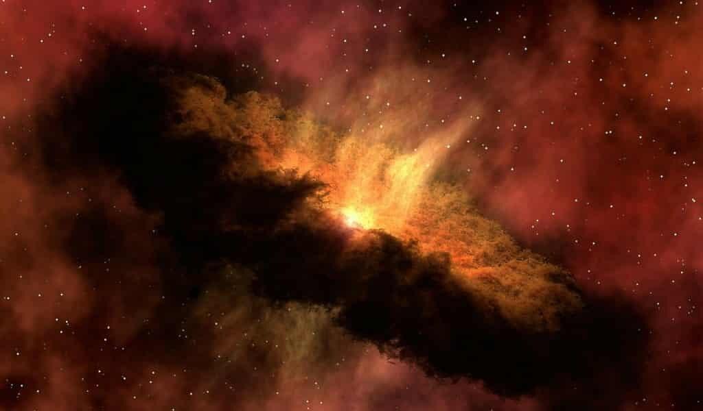 D'étranges nuages de poussière gravitent autour d'une étoile