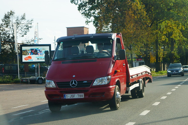 Mercedes-Benz Sprinter Euro3 416 CDI 4x2 (2001) - Provincie Limburg, Vlaanderen Gewest, België