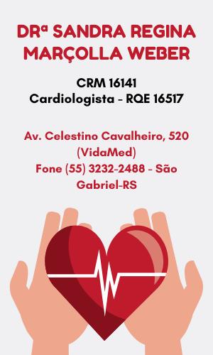 Drª Sandra Weber - Médica Cardiologista