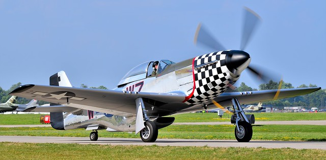North American P51 D Mustang NL51ZW Frances Dell USAAF 44-72927