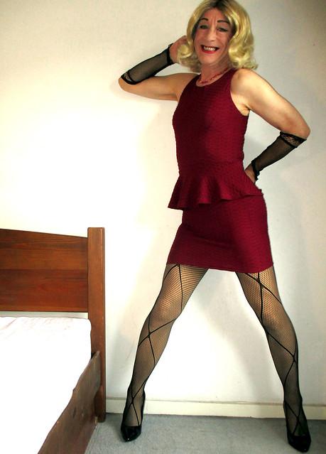 new peplum dress