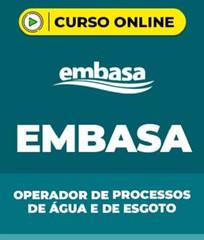 Curso EMBASA – Operador de Processos de Água e de Esgoto