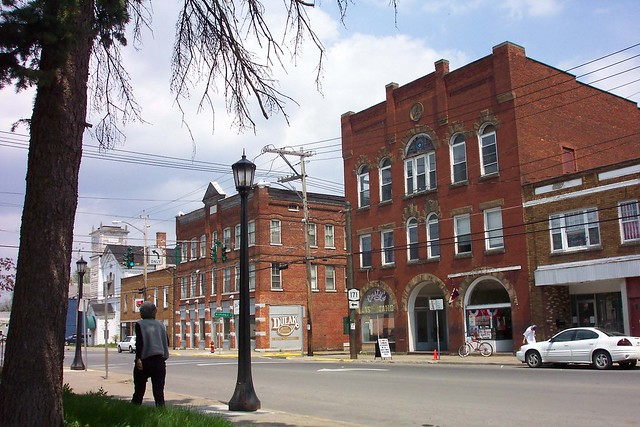 Frankfort New York - Main Street - Former Masonic Building  - Historic District