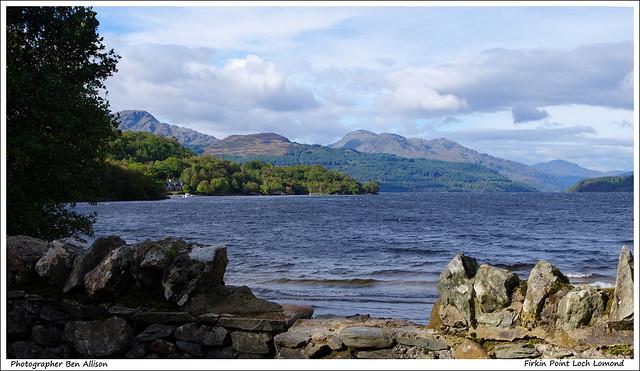 Firkin Point Loch Lomond