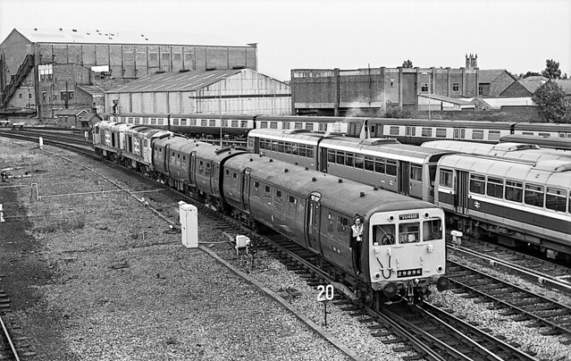 LMS class 502 heads back to Steamport. September 1989.