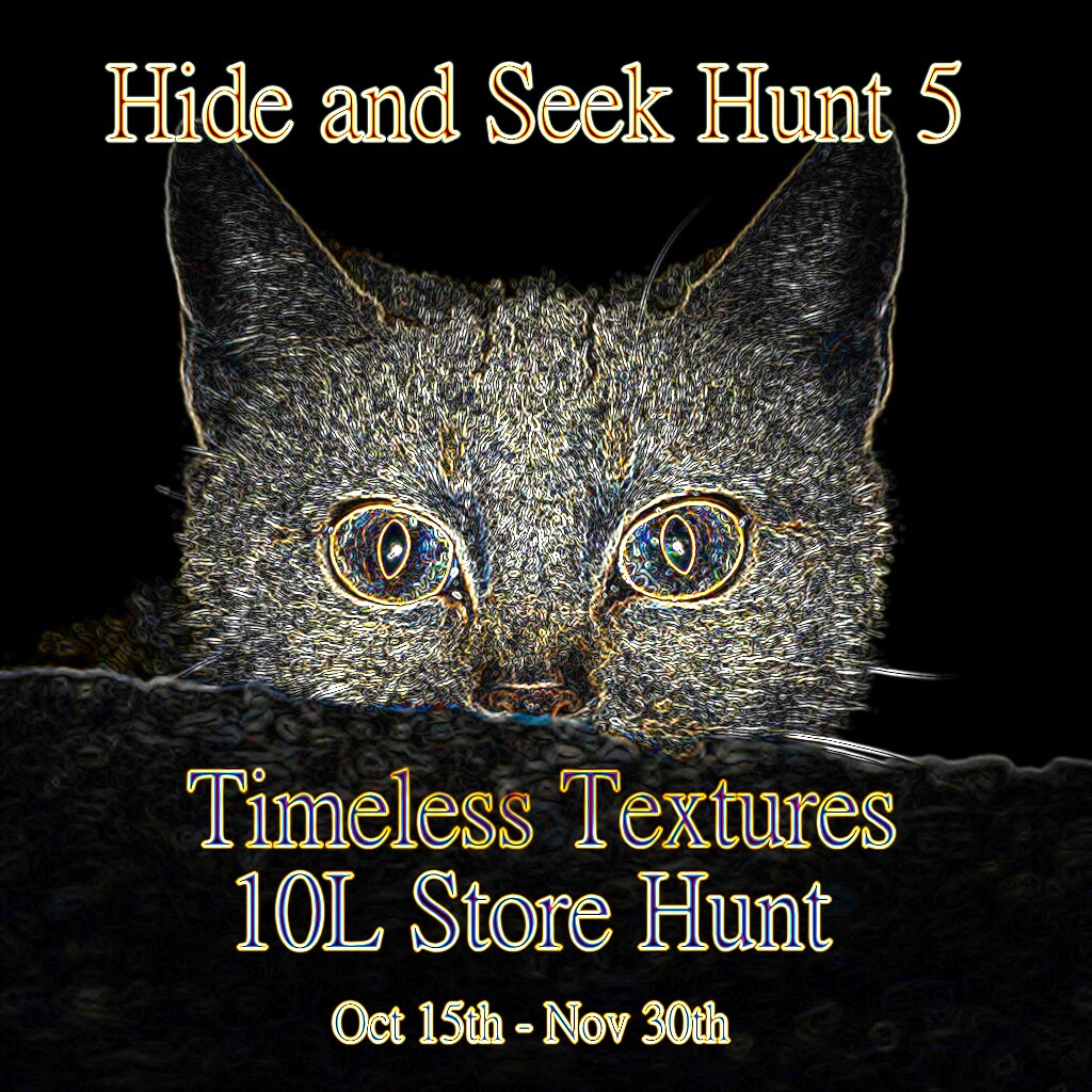 Hide and Seek Hunt 5 a Timeless Textures 10L Store Hunt