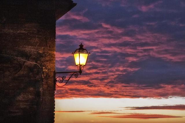 Il lampione solitario (in Explore 15/10/2021)